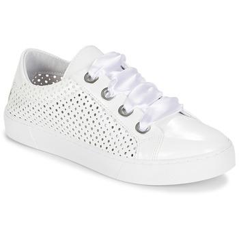Skor Dam Sneakers André BEST Vit