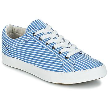 Skor Dam Sneakers André SESAME Randig / Blå