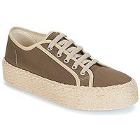 Skor Dam Sneakers André LODGE Kaki