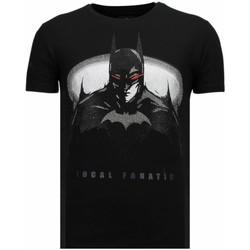 textil Herr T-shirts Local Fanatic Bad Rhinestone Z Svart