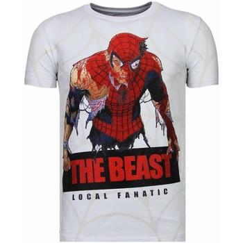 textil Herr T-shirts Local Fanatic The Beast Spider W Vit