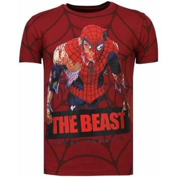 textil Herr T-shirts Local Fanatic The Beast Spider B Bordeaux
