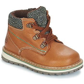 Skor Pojkar Boots Citrouille et Compagnie JOBA Brun