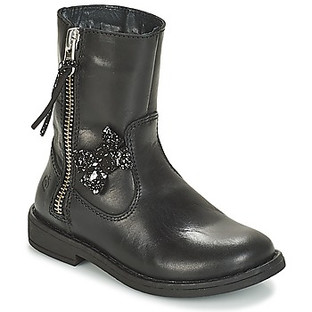 Skor Flickor Boots Citrouille et Compagnie JARINDA Svart