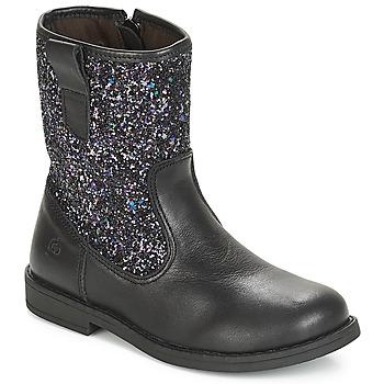 Skor Flickor Boots Citrouille et Compagnie JUCKER Svart