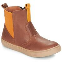 Skor Pojkar Boots Citrouille et Compagnie JRYNE Kamel / Gul