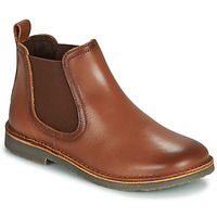 Skor Pojkar Boots Citrouille et Compagnie JOVETTE Kamel