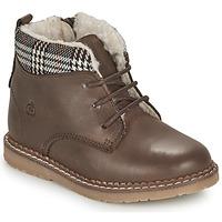 Skor Pojkar Boots Citrouille et Compagnie JAMBOUT Brun