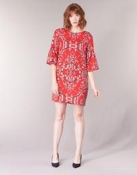 textil Dam Korta klänningar Vero Moda VMGYANA Röd
