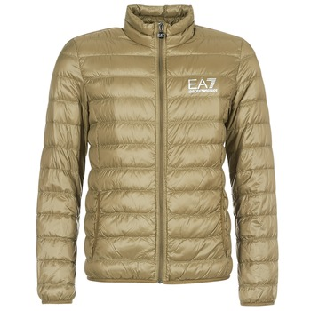 textil Herr Täckjackor Emporio Armani EA7 TRAIN CORE ID M DOWN LIGHT Brun
