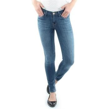 textil Dam Skinny Jeans Lee Scarlett Blue L526SVIX blue