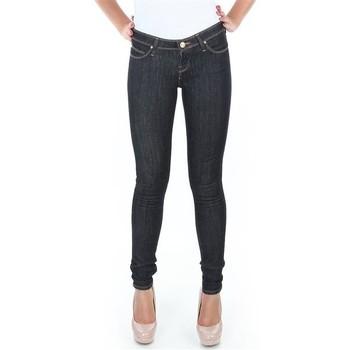 textil Dam Skinny Jeans Lee Spodnie  Toxey Rinse Deluxe L527SV45 blue