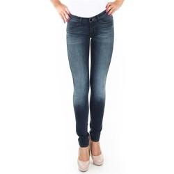 textil Dam Skinny Jeans Wrangler Spodnie  Corynn W25FU453J blue