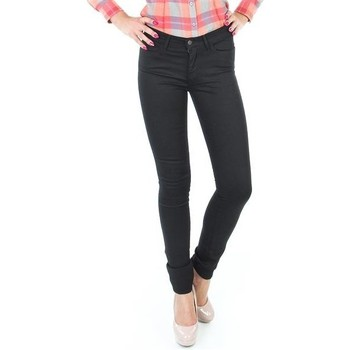 textil Dam Skinny Jeans Wrangler Jaclyn INK LUX W26DBI33L black