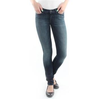 textil Dam Skinny Jeans Wrangler Jeans  Jaclyn  Dark Lake W26DU468Y blue