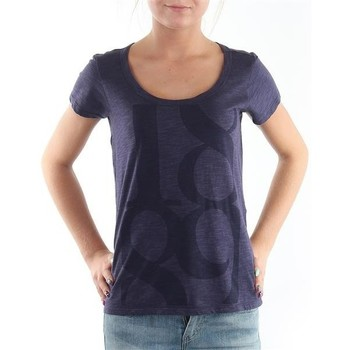 textil Dam T-shirts Lee T-Shirt  Scoop Mystic Plum 40KFL87 blue