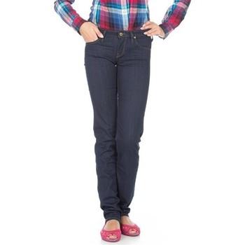 textil Dam Stuprörsjeans Lee Jeans  Lynn Straight  L333EYCU blue
