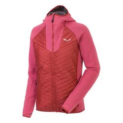 textil Dam Fleecetröja Salewa Bluza  Fanes PL/TW W Jacket 25984-6336 pink