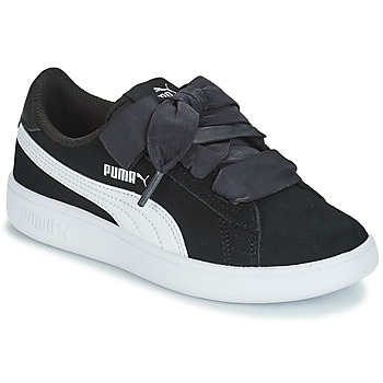 Skor Barn Sneakers Puma SMASH V2 RIB PS Svart
