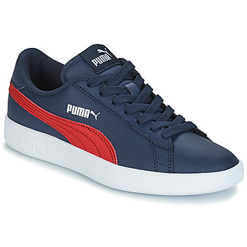 Skor Barn Sneakers Puma SMASH V2L JR182 Marin