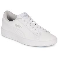 Skor Barn Sneakers Puma SMASH V2 L JR Vit