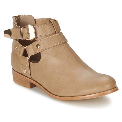 Skor Dam Boots Moony Mood BEZAH Beige