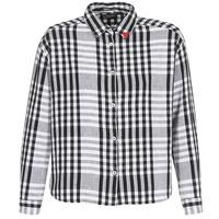 textil Dam Skjortor / Blusar Maison Scotch FRINDA Svart / Vit