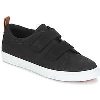 Skor Dam Sneakers Clarks Glove Daisy Svart