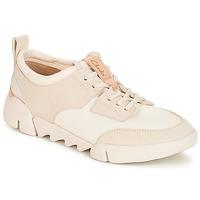 Skor Dam Sneakers Clarks Tri Spirit Vit