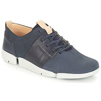 Skor Dam Sneakers Clarks Tri Caitlin Navy