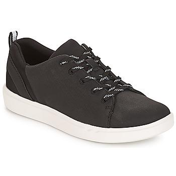 Skor Dam Sneakers Clarks Step Verve Svart