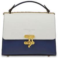 Väskor Dam Handväskor med kort rem Christian Laurier ORA blanc bleu marine