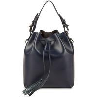 Väskor Dam Handväskor med kort rem Christian Laurier BIRGIT bleu marine