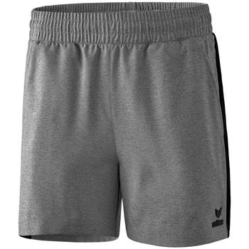textil Dam Shorts / Bermudas Erima Short femme  Premium One 2.0 gris chiné/noir