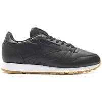 Skor Herr Sneakers Reebok Sport Classic Leather PG Svarta