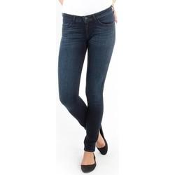 textil Dam Skinny Jeans Wrangler Jeans   Courtney blue shelter W23SU466N blue