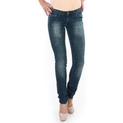 textil Dam Skinny Jeans Wrangler Spodnie  Molly 251XB23C blue