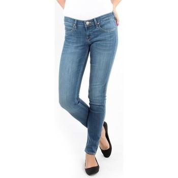 textil Dam Skinny Jeans Lee Spodnie Damskie  357SVIX Lynn  Skinny blue