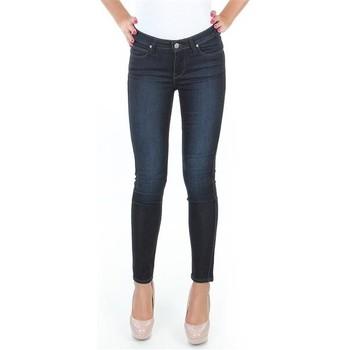 textil Dam Skinny Jeans Lee Spodnie  Scarlett L526SWWO blue