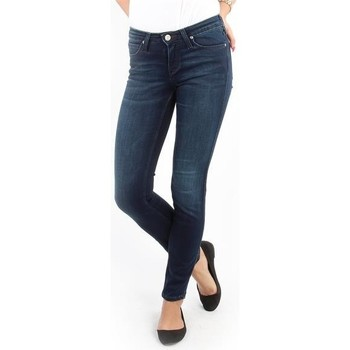 textil Dam Skinny Jeans Lee Scarlett Skinny Pitch Royal L526WQSO navy