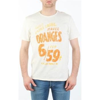 textil Herr T-shirts Lee MARCANTILE L668ABBC white