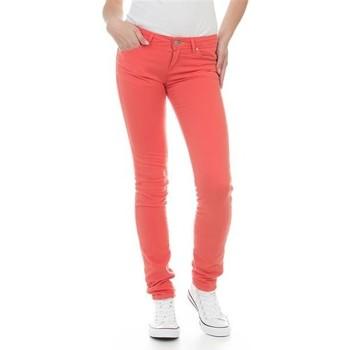 textil Dam Skinny Jeans Wrangler Jeans  Molly Melon W251U229M red