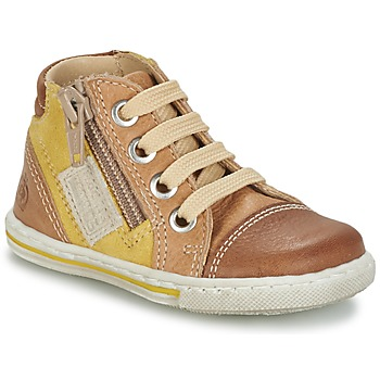 Skor Barn Höga sneakers Citrouille et Compagnie MIXINE Brun