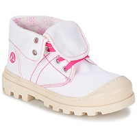 Skor Flickor Boots Citrouille et Compagnie BASTINI Vit