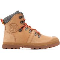 Skor Dam Boots Palladium Manufacture Pallabrouse Hikr 95140-278 brown