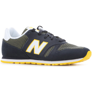 Skor Dam Sneakers New Balance KD373NRY black, white, yellow