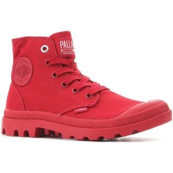 Skor Höga sneakers Palladium Pampa Hi Mono U 73089-607-M red