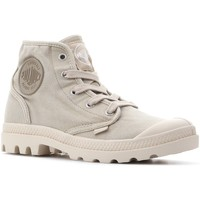 Skor Dam Höga sneakers Palladium Manufacture Pampa Hi 92352-238-M beige