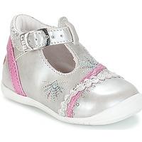 Skor Flick Sneakers GBB MARINA VTE ARGENT-FUSHIA DPF/KEZIA