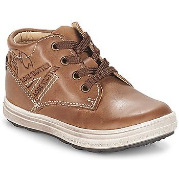 Skor Pojk Sneakers GBB NINO Brun